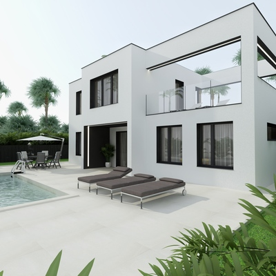 Casa de estilo moderno