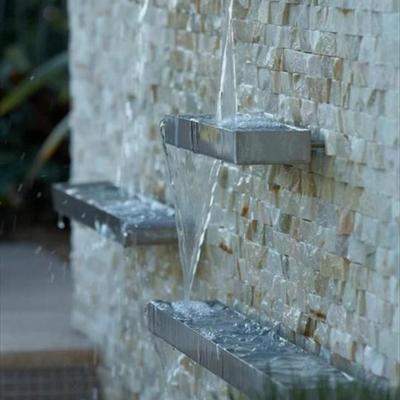 Refresca tu terraza con una fuente