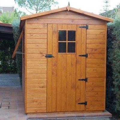 Caseta de madera de 1.80x3.00 m. - Pozuelo de Alarcón (Madrid)