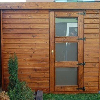 Caseta de madera de 2.30x2.50 m. - Peralta (Navarra)