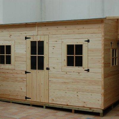 Caseta de madera de 4.12x3.83 m. - Barcelona