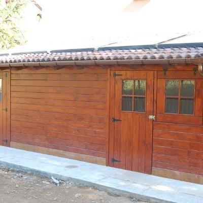 Caseta de madera de 7.00x3.00 m. - san martín de teverga (Asturias)