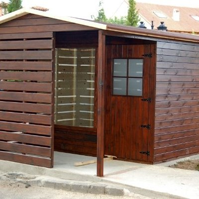 Caseta Oficina de Turismo - 3.00x3.50 m. + Porche - Uceda (Guadalajara)