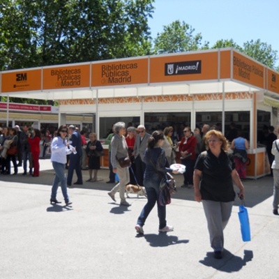 La 72ª edición de la Feria del Libro de Madrid cuenta con las casetas y pabellones modulares - IBERHall de la empresa IberStand