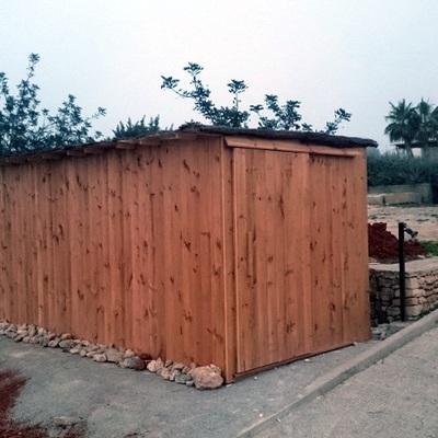 Casita de madera como almacén 13 m2  en Mallorca
