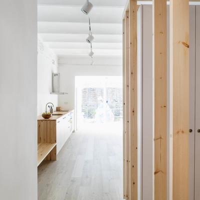 Celosía de madera interior