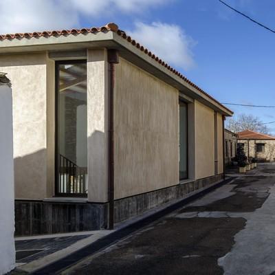 Centro de Interpretación de canteras de piedra molinera. Trévago (Soria)