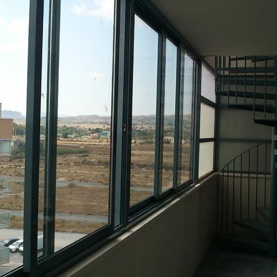 Cerramiento Aluminio Terraza Y Escalera