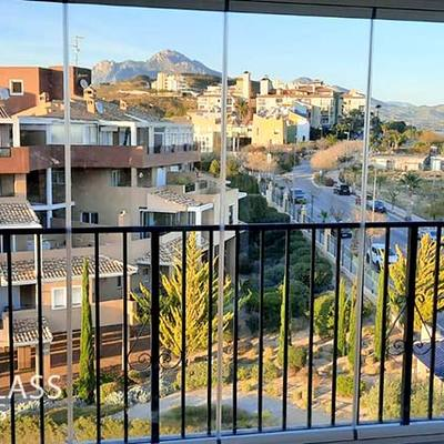 Acristalamiento de terraza en Benisa