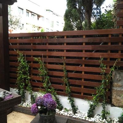 Ideas y fotos de cerramientos madera para inspirarte for Cerramientos para jardines