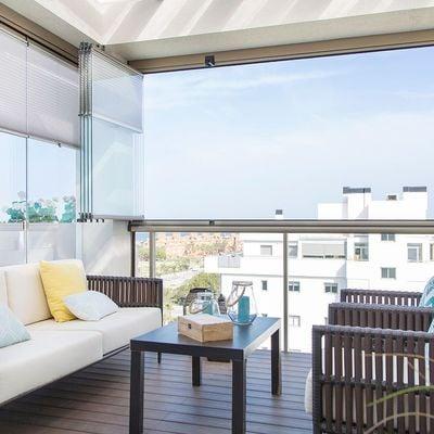 4 formas de adaptar tu terraza cerrada al invierno