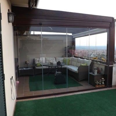 Presupuesto cerrar terraza atico online habitissimo - Como cubrir una terraza ...
