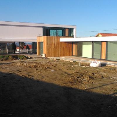 Construcción vivienda en gandario (Sada)