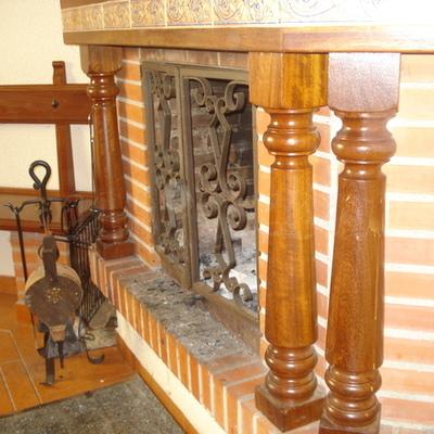 forrado de atico y restauracion de chimenea de merendero