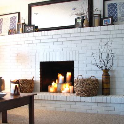 Instalar un hogar de hierro fundido en una chimenea de - Chimeneas de obra ...