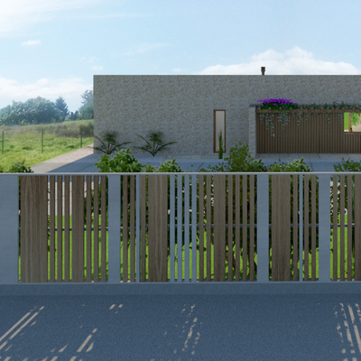 Diseño y construcción de una vivienda unifamiliar de estilo mediterráneo