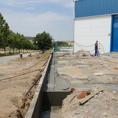 Obras 2015 oficinas y nave industrial