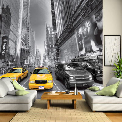 Decora con fotomurales y crea espacios originales