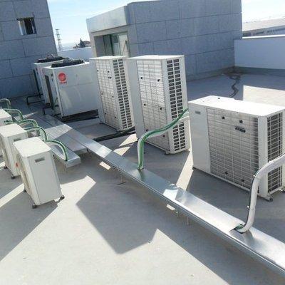 Trabajos de aire acondicionado