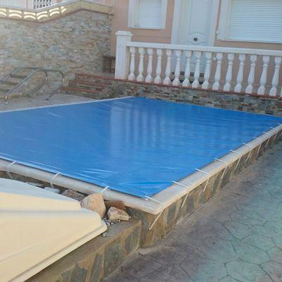 Cobertizo de piscinas