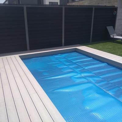 Cobertores de lona para piscinas