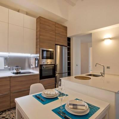 La reforma de un piso con un bonito patio interior