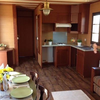 Proyecto de casas móviles seminuevas para campings con un descuento del 65% en Madrid