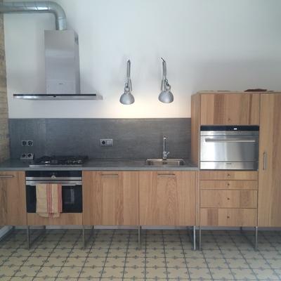 Ideas y fotos de frontal cocina gris para inspirarte for Frontal cocina ideas