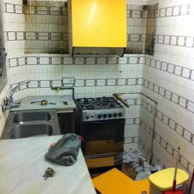 Cambio de mobiliario de cocina en Barcelona