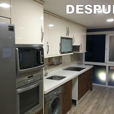 Reforma integral de una vivienda en Madrid