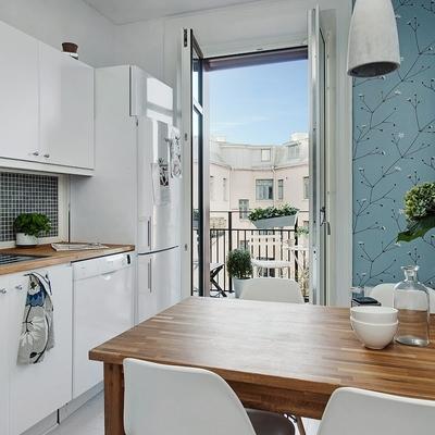 Gresite para cocinas mosaico azul en el lavabo with for Cenefas adhesivas cocina ikea