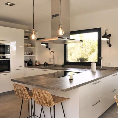 Ideas y fotos de barra isla para inspirarte habitissimo - Cocina con isla precio ...