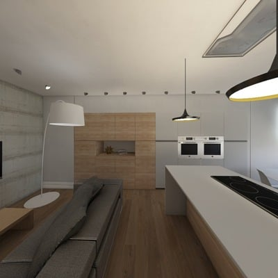 Renovación de un apartamento en Madrid
