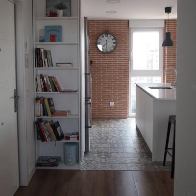 De piso antiguo a hogar para una familia joven