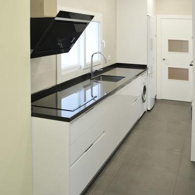 Reforma integral de piso de 130 m2 para ejecutivo en Madrid