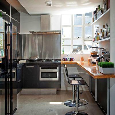 7 cocinas pequeñas que aprovechan sus metros al máximo