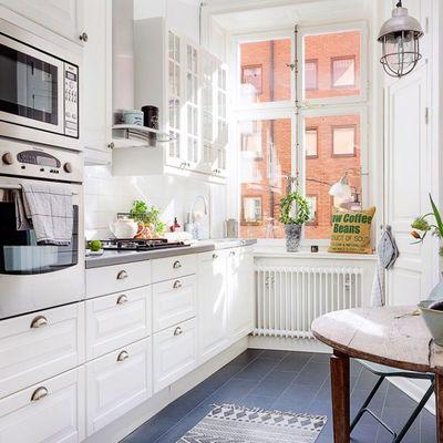 Cómo hacer que tu cocina parezca más grande sin tener que hacer reformas