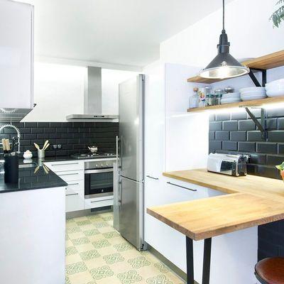 Maneras de incorporar el negro mate en tu cocina
