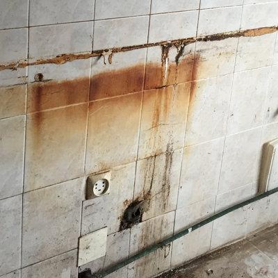 Limpieza de piso cerrado varios años, en Gijon
