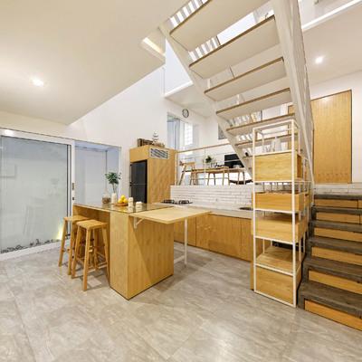 Una casa que aprovecha y optimiza hasta el último rincón