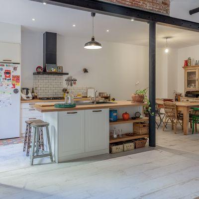 7 pequeñas cocinas abiertas al salón