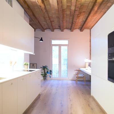 Ideas y fotos de reformas cocinas para inspirarte for Cocinas abiertas al pasillo