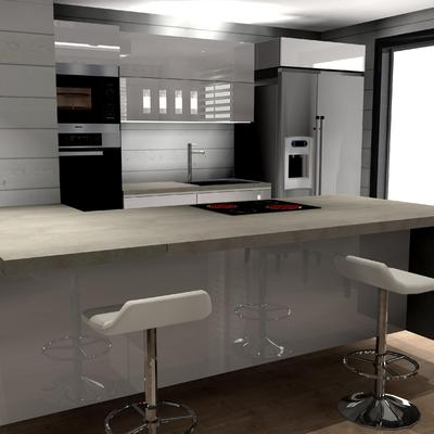 Cocina abierta al salón - Valdebebas