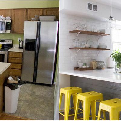 Antes y después de 5 cocinas que debemos ver