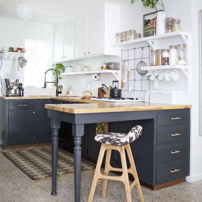 5 cocinas antes y después de pintar sus azulejos