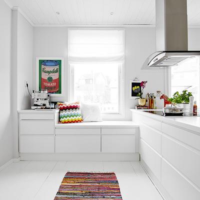 Ventajas y características de los muebles de cocina blancos
