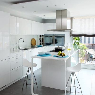 Precio muebles cocina blanco online habitissimo for Presupuesto muebles cocina