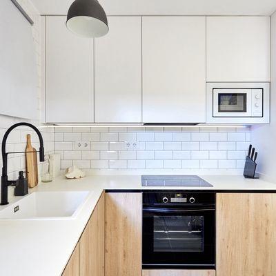 Cómo distribuir tu cocina y que así parezca más grande