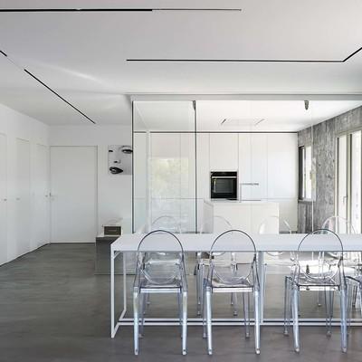 El antes y después de una vivienda que se convirtió en minimalista