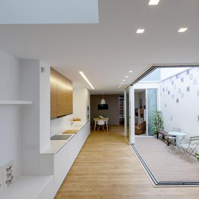 Reforma de una vivienda de solo 4,8 metros de ancho